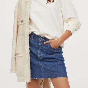 H&M Denim Skirt blue size 6